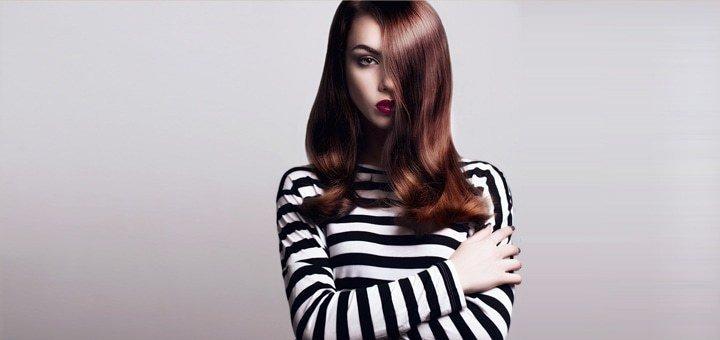 Лечебная стрижка волос горячими ножницами в салоне красоты «Гармония»