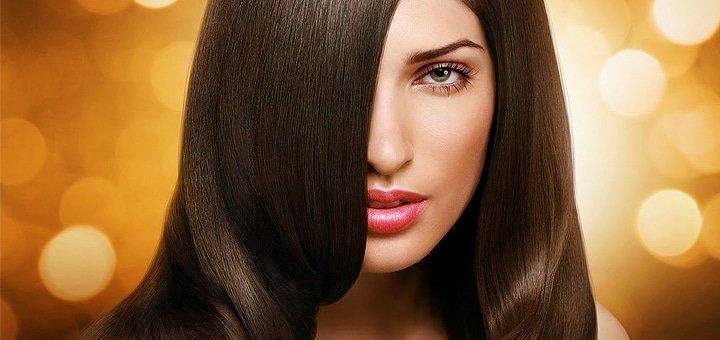 Кератиновое выпрямление и лечение волос препаратом «Cocochoco» в салоне «Гармония»