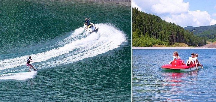 Наслаждайтесь купанием в чистейшем Карпатском озере! До 7 дней отдыха в отеле Radisson Blu Resort 5* в Буковеле!