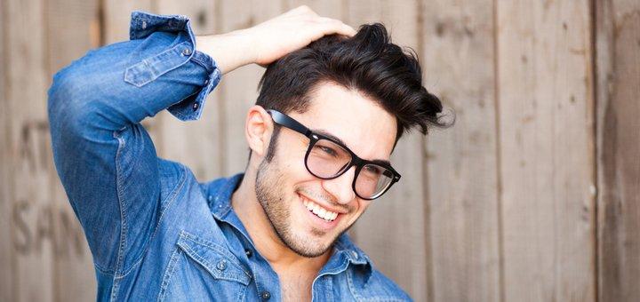 Стрижка, укладка, камуфлирование седины волос для мужчин в сети «ЄвроПерукарня»