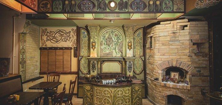 Скидка 33% на все меню кухни и бара в кафе «Византиум»