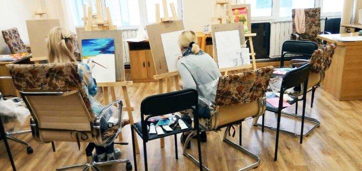 Мастер-класс по живописи маслом от студии «Free Art»