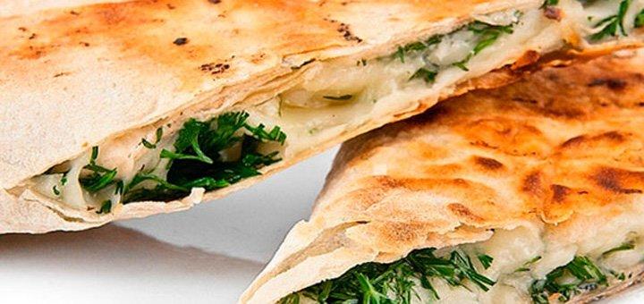 Скидка 50% на меню кухни арт кафе «Марципановая мафия»