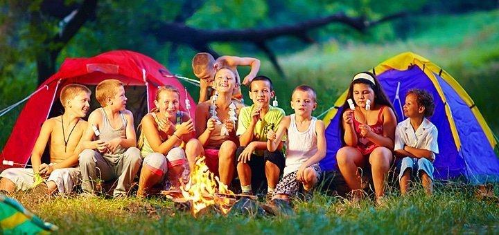 Скидка 20% на отдых в палатках в лучшем лагере под Киевом «Смена»