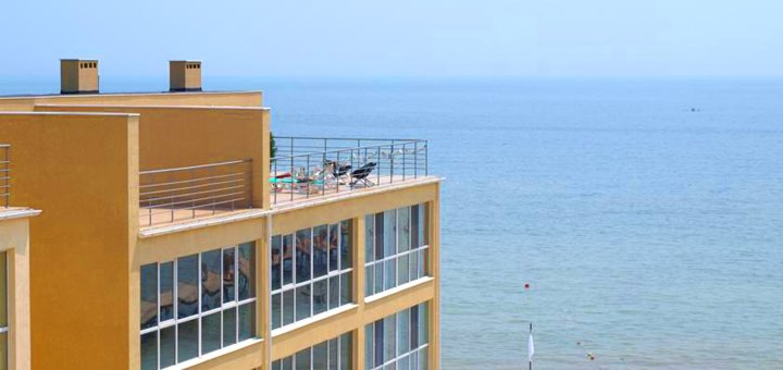 От 3 дней отдыха в отеле «Морская Жемчужина» в Крыжановке под Одессой
