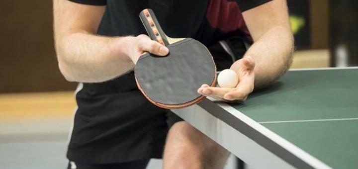 Час игры в настольный теннис в общем или VIP зале для двоих в клубе «Orion»