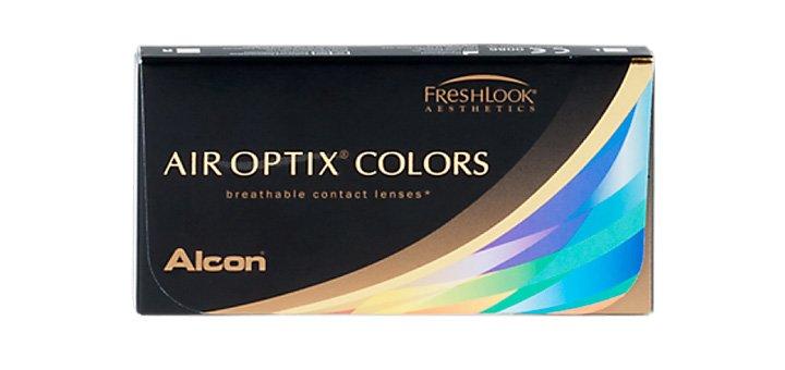 Скидка 20% при покупке упаковки линз «AIR OPTIX COLORS» (2 шт)