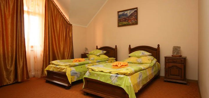 От 5 дней отдыха в отеле «Гортензия» в Поляне на территории санатория «Поляна»