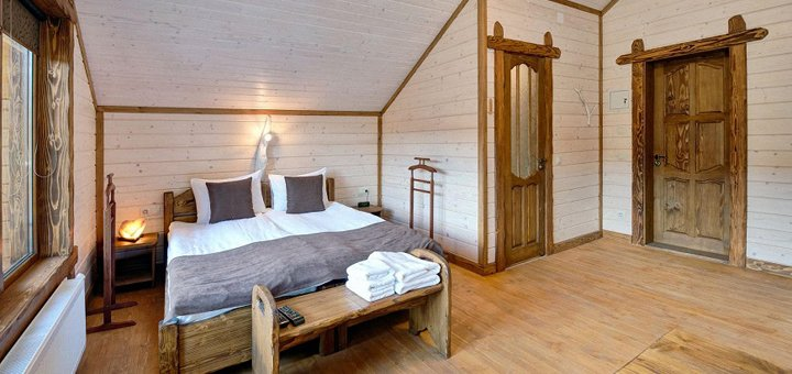 От 3 дней отдыха для двоих в отельном комплексе «Осоння Карпати» во Львовской области