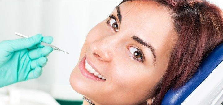 Комплексная 3-этапная профессиональная гигиеническая чистка зубов с Air Flow в клинике «Стиль»