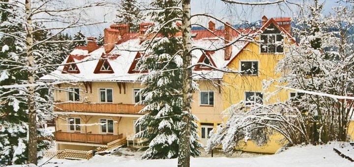 От 4 дней отдыха на Новый год в отельном комплексе «Калина» в Славском