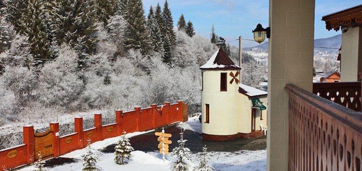 8-дневный релакс-тур для двоих в шикарном отеле «Золотая Подкова» в Славском