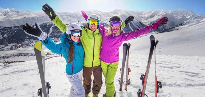 Скидка 27% на зимние аксессуары для лыж и сноубордов+подарок