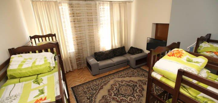 От 2 дней в номерах хостела «PANORAMI Center» во Львове