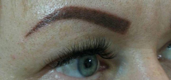 Перманентный макияж век, бровей или губ в салоне красоты «Роксолана»