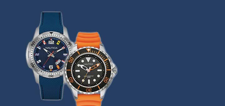 Купуй один годинник «Nautica» – другий отримуй в подарунок!