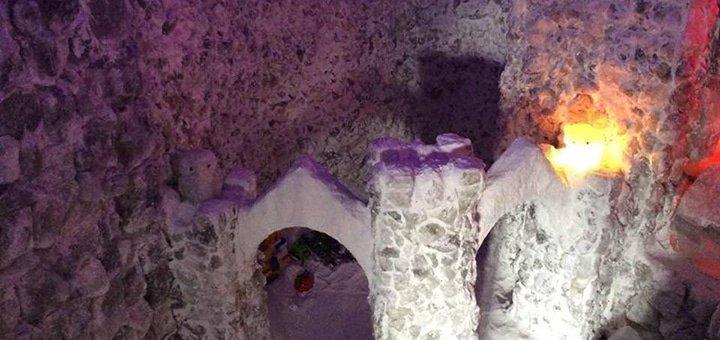 10 посещений соляной пещеры «Соляна Фортеця»