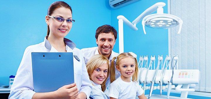 Комплекс стоматологических услуг на выбор в стоматологическом кабинете «White Smile»