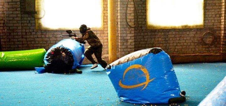 Игра в пейнтбол для компании в центре спортивного пейнтбола «Экспресс»