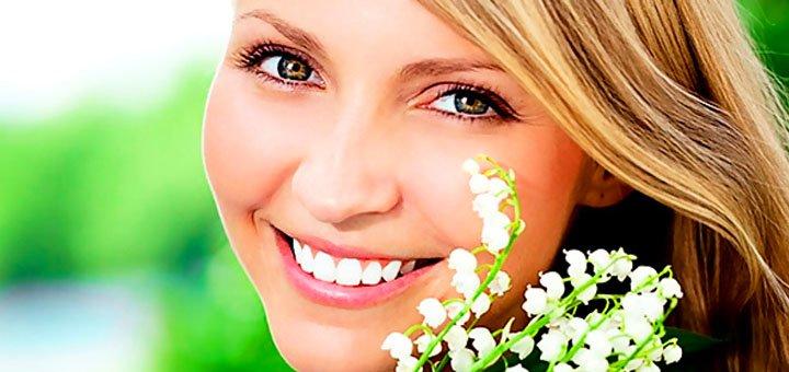 Отбеливание зубов «White Smile» для одного или двоих в «Дента-студио»