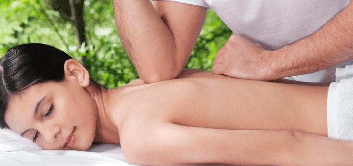 До 7 сеансов массажа спины, шейно-воротниковой зоны и лица в студии «4 elemens»