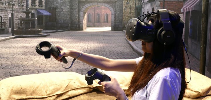 До 2 часов игры в виртуальную реальность для двоих от «VR HUB»