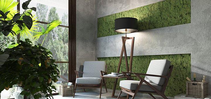 Скидка до 60% на индивидуальный дизайн-проект жилого помещения от студии «Yudesign»