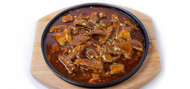 Скидка 50% на меню кухни в ресторане китайской кухни «Хуачао»