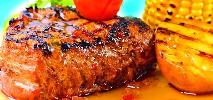 Скидка 50% на все меню кухни в ресторане «Кумир»