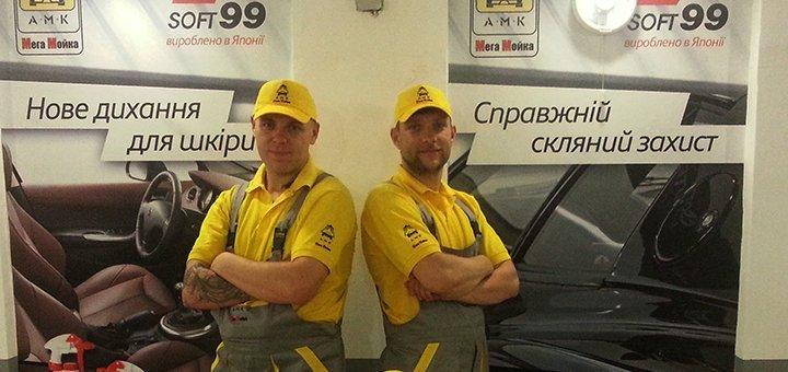 Шиномонтаж 4 колес для легкового автомобиля или внедорожника в автосервисе на Печерске