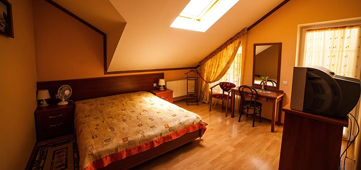 От 3 дней отдыха с питанием All Inclusive в отеле «Вилла Марта» в центре Трускавца