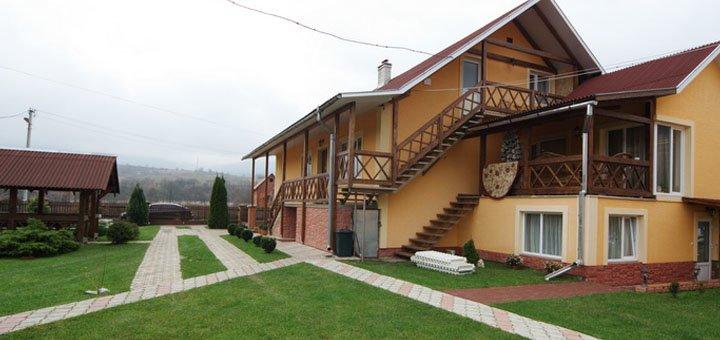 От 3 дней отдыха с заездами на майские праздники в отеле «Августин» в Солочине