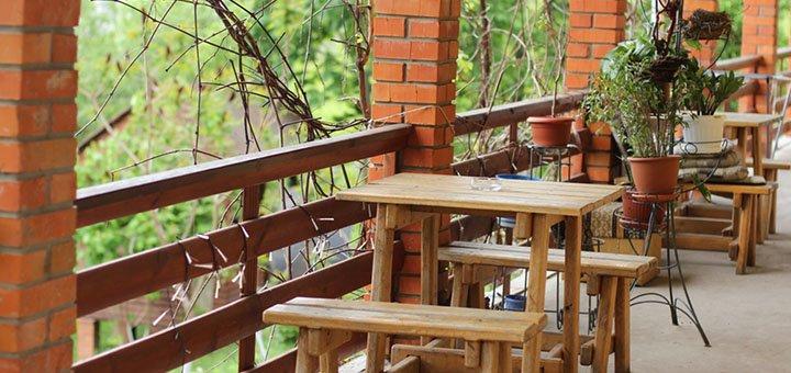 От 2 дней отдыха с баней для двоих в гостевом доме «Дача Салтов» в Харьковской области