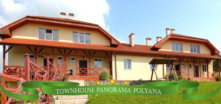 До 11 дней отдыха и проживания для компании до 6-х человек в коттеджном комплексе «Таунхаус Панорама Поляна»!