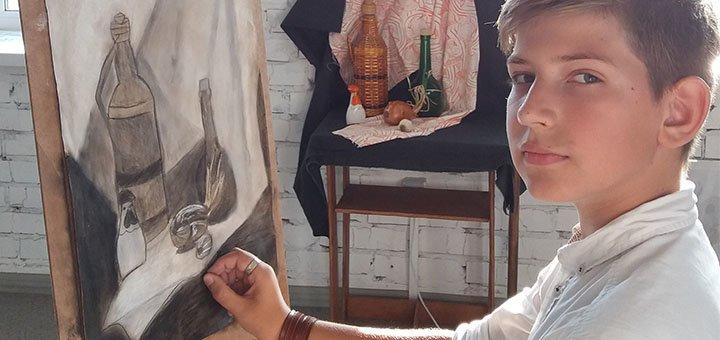 Обучение рисованию в художественной школе академического рисунка и живописи «Irpen Art School»