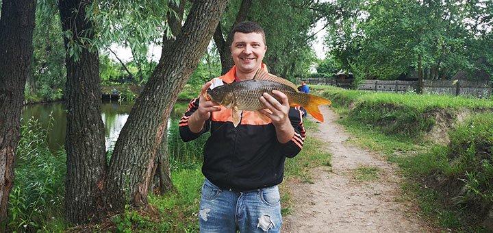 Целый день отдыха с рыбалкой, приготовлением улова, посещением бани и ресторана в «Мангал парк»