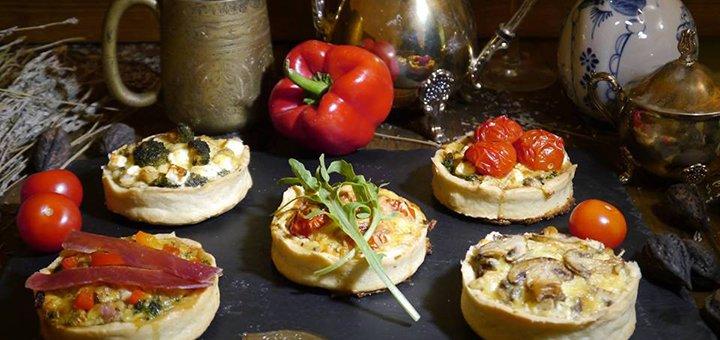 Киш «4 сыра» с разными начинками от пекарни «Viva Bakery»