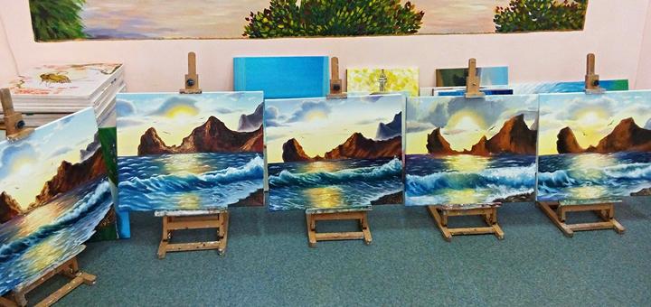 Творческий мастер-класс от художественной школы «7 Чудес»