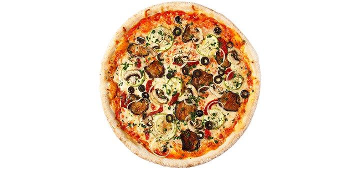Скидка 50% на все меню пиццы в службе доставки «Pizza Party»