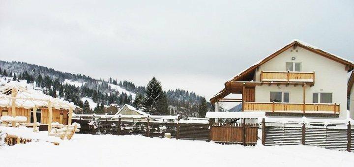 All inclusive по-карпатски + теплые бассейны, мастер-классы по лыжам в «Admiral-SPA» в Славском