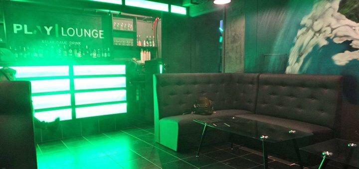 2 часа аренды игровой комнаты и кальян для компании в «Play Lounge»