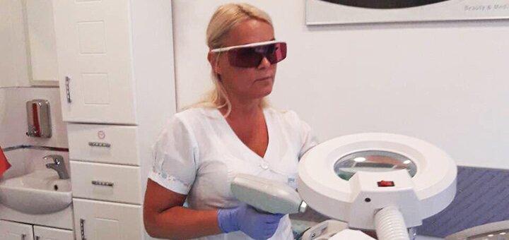 Чистка лица, уход за кожей или массаж для лица в центре лазерной косметологии «LaserLux»