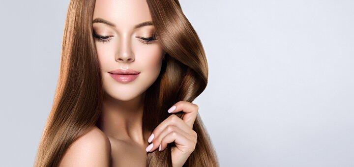 Стрижка, укладка и полировка волос в салоне красоты «Beauty Stream»