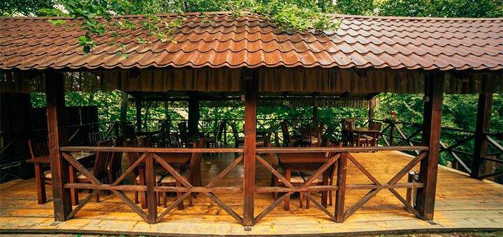 От 3 дней отдыха с питанием и пакетом услуг в SPA-отеле  «Срібне Джерело» в Карпатах