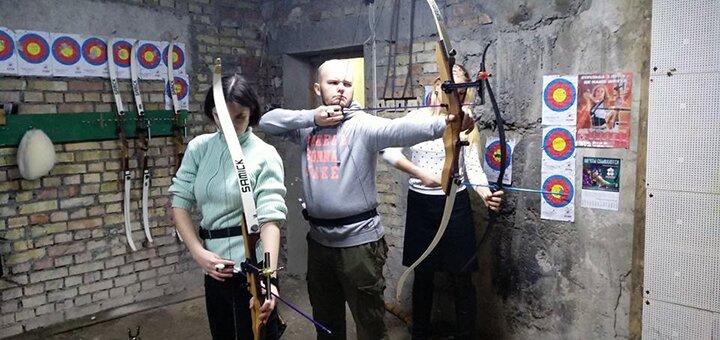 1 занятие стрельбой из лука в клубе стрельбы из лука «Робин Гуд»
