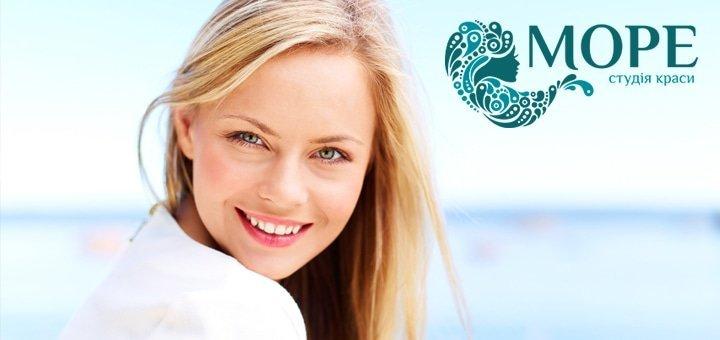 Ультразвуковая или механическая чистка лица на израильской косметике Cаre&Beauty Line в салоне красоты «Море» от 99 грн!