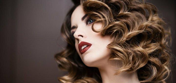 Скидка 30% на химическую завивку волос в салоне красоты «Градиент»