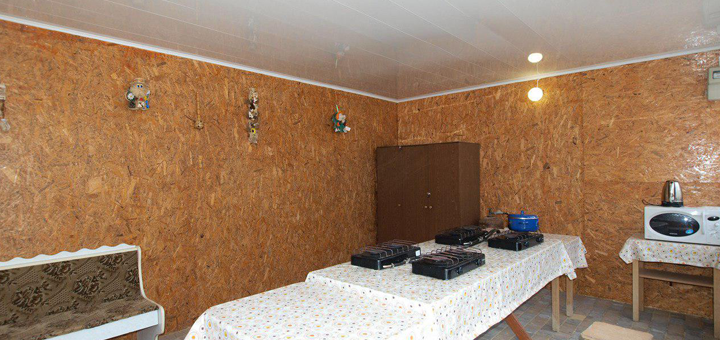 От 3 дней отдыха в июне на базе отдыха «Водограй» в Кирилловке на Азовском море