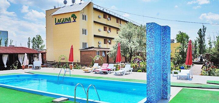 От 4 дней отдыха летом в отеле с бассейном «Лагуна» в Коблево