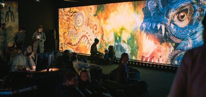 Входной билет на мультимедийную выставку в арт-пространство «SAMSKARA»